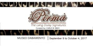 Pirma, the Lang Dulay Signatures exhibition
