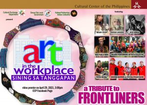 CCP to hold virtual performance  featuring Mindanaoan talents to pay tribute to Frontliners.